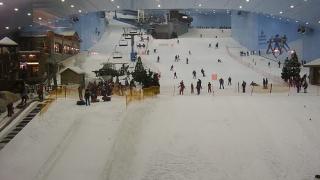На ски в пустинята