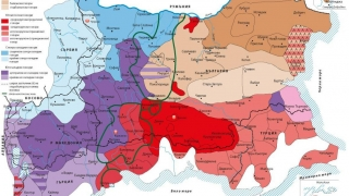 Звукова карта говори 30 диалекта