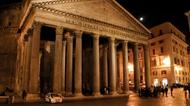 Една нощ в Рим