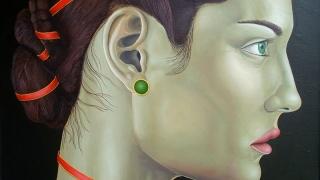 """""""Червена нишка"""" свързва двама художници в галерия Ларго"""