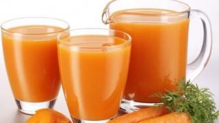 Сок от моркови срещу пролетни алергии