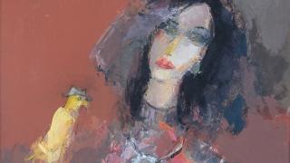 """Загадъчна """"Жена с птица"""" влиза в Ларго"""