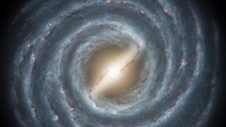 Млечният път вероятно има четири спирални ръкава