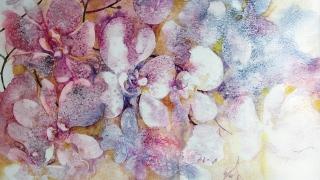 Художничка от Търговище отглежда цветята, които рисува