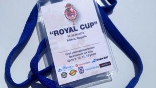 """Малки тенисисти от 8 държави мерят сили на """"Royal cup '2015"""""""