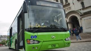 Чешки електробус се движи в Сливен пробно