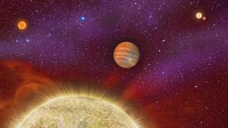 Откриха рядка слънчева система с пет слънца