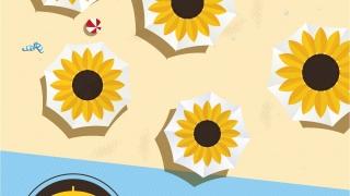 """""""Морски слънчогледи"""" зареждат безплатно GSM-и на плажа във Варна"""