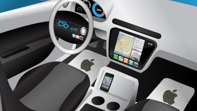 Apple разработва автомобил, който се кара сам