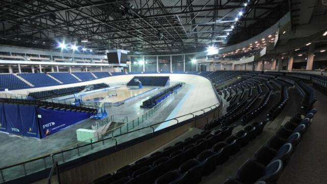 Пловдивската спортна зала - единствена с писта на Балканите
