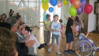 Германски младежи в помощ на деца с увреждания  в Гоце Делчев