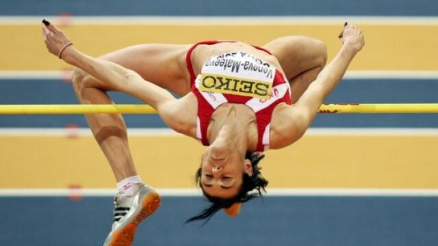 Венелина Венева със световен рекорд в скок на височина