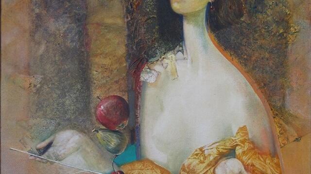 """""""Мястото на правия ъгъл"""" търси Цветан Лазаров  в галерия """"Ларго"""""""