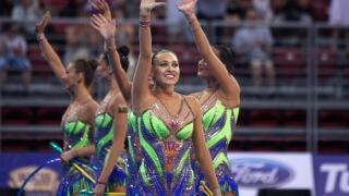 Ансамбълът ни със сребро на световното по художествена гимнастика