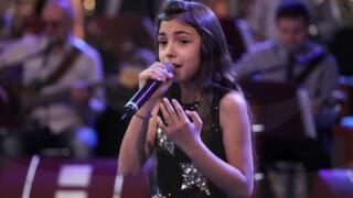 Габриела от Детската Евровизия със златна значка на Русе