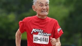 Японец постави нов световен рекорд по бягане на ... 105 г.