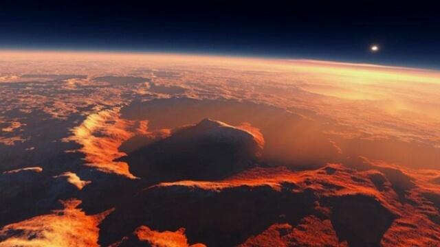 Не само течаща вода, а океан на Марс