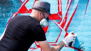 Холандски графити артист обучава наши стрийт арт ентусиасти