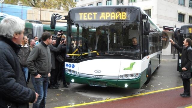 Старозагорци ще се возят в най-модерните автобуси у нас