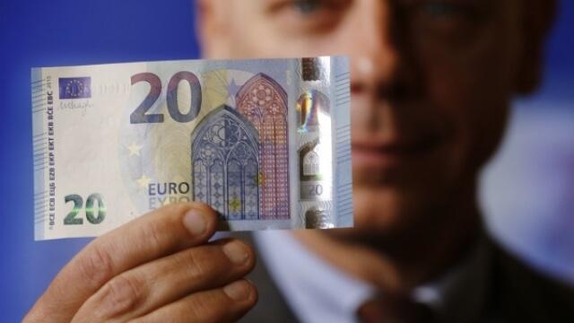 В обръщение е нова банкнота от 20 евро
